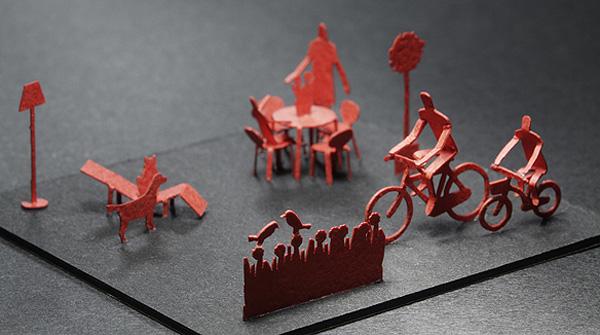 Terada Mokei Architectural Models by Naoki Terada